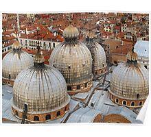 St Mark's Basilica, Venice, Italy Poster