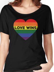 Love Wins Women's Relaxed Fit T-Shirt