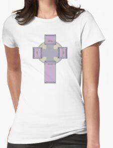 Celtic Cross--Lavender Pastel Tones T-Shirt