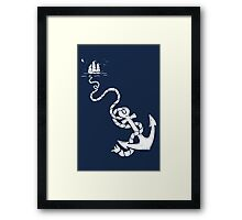 Our Anchor We Will Weigh Framed Print