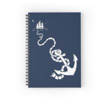 Our Anchor We Will Weigh Spiral Notebook