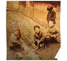Children Playing Poster