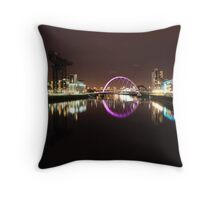 the clyde arc Throw Pillow