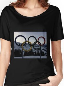 Winter Olympics Women's Relaxed Fit T-Shirt