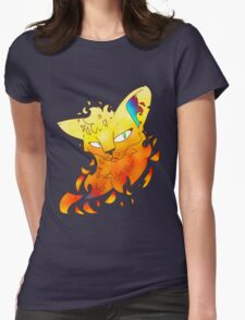 Fire Alone Womens Fitted T-Shirt