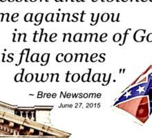 New American Hero Bree Newsome Sticker