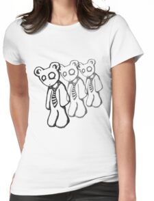 Corporate Bear Womens Fitted T-Shirt