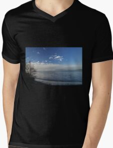 Winter tide Mens V-Neck T-Shirt