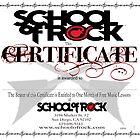 School of Rock design by Erik Diaz