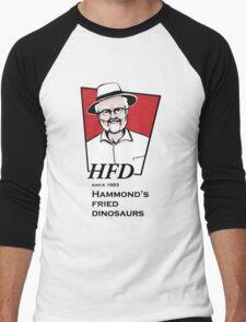 Hammond's fried dinosaurs Men's Baseball ¾ T-Shirt