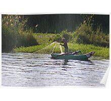 Nile Fisherman Poster