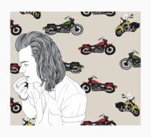 Motorcycle Harry  Kids Tee