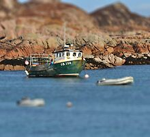 Fishing boat at Fionnphort, Scotland by swhite99