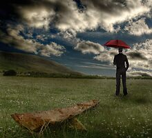 The Grass Grows Beneath Our Feet As We Stand And Watch For Rain by Paul Cook