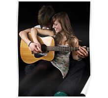 Smiles, Kisses and Guitars Poster