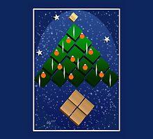 Geometric Christmas Tree by elledeegee
