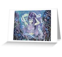 Conjuring the Muse Greeting Card