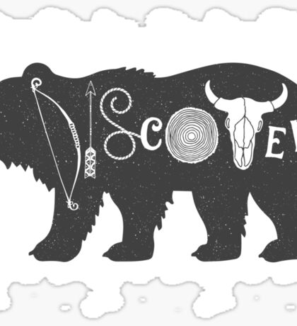 Discover Sticker