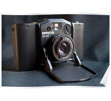 Minox 35 GT miniature camera Poster