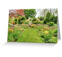 Chanticleer Circle Garden Greeting Card