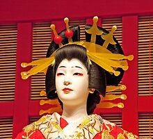 Edo Era Geisha by phil decocco