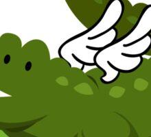 Alligator wings Sticker