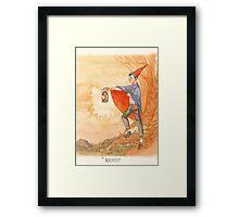 Over the Garden Wall (Tarot Wirt) Framed Print