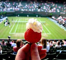 Strawberries & Cream by Juliet Belasyse-Smith