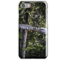 """Alligators may live here"" iPhone Case/Skin"
