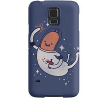 SPACE SAUSAGE IN OUTER SPACE, YAY!! Samsung Galaxy Case/Skin