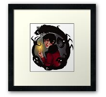 WILLOW || ScarlettDesigns Framed Print