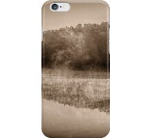 Misty River Morning iPhone Case/Skin