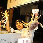 """The Crab Man"" at the Fish Market San Fran by Gail Jones"