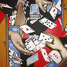 Is it in the way the cards fall? or...is it the way we play those cards? by helene ruiz