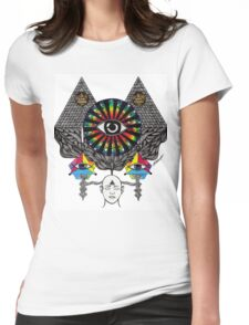 MY THIRD EYE Womens Fitted T-Shirt