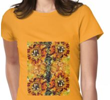 Summer Flowers 4 Womens Fitted T-Shirt