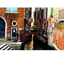 little slice of venice Photographic Print