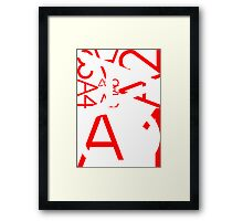 ISO A Series Framed Print