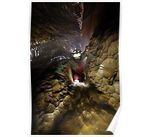 Climbing the Cascades Poster
