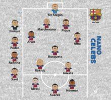 Barcelona FC .. the dream team One Piece - Long Sleeve