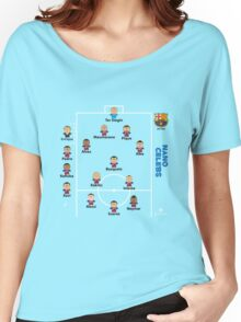 Barcelona FC .. the dream team Women's Relaxed Fit T-Shirt