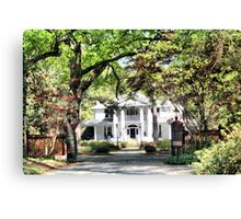 Wallace House Canvas Print