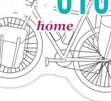 Kate's Cycle - Black Sticker