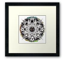 THE WHEEL OF THE YEAR Framed Print