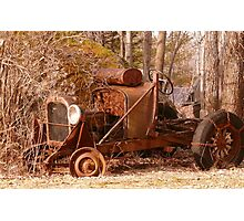 Rusty Old Car... Photographic Print