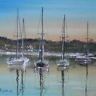Yacht Harbour by Ken Tregoning