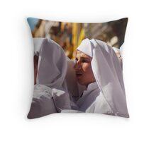 Los hombres de trono - Malaga 2010 Throw Pillow