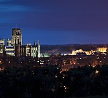 East View - Durham Cathedral by David Lewins