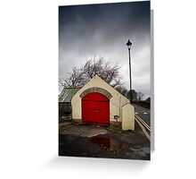 Red Door 1878 Greeting Card
