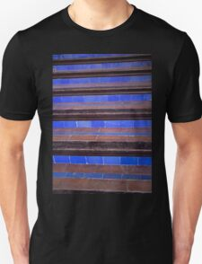 blue staircase Unisex T-Shirt